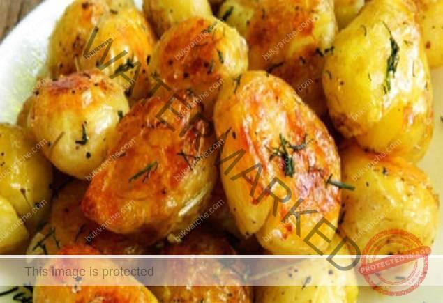 Рецепта за картофи - вкусна гарнитура или като самостоятелно ястие
