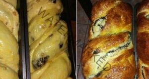 Рецепта за козунак с орехи и какао - отличен вкус