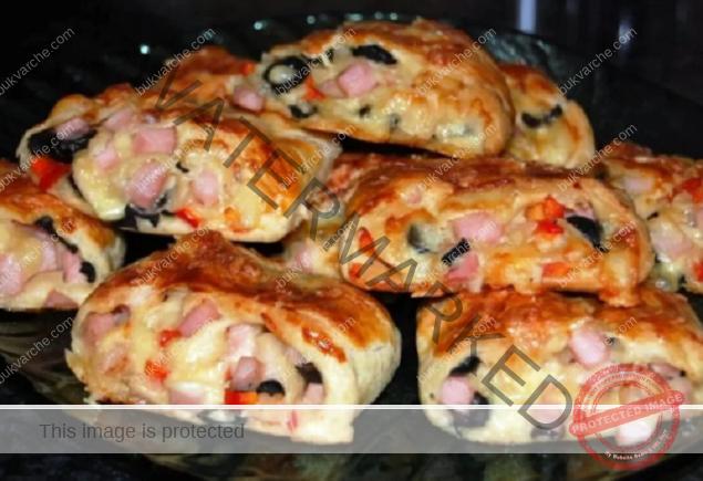 Рулца от бутер тесто - любимата закуска на моите гости