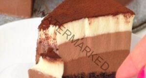 """Торта """"Три шоколада"""" - истинска наслада за небцето"""