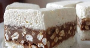 Шоколадов сладкиш с кокос и ориз - топи се в устата, превкусен