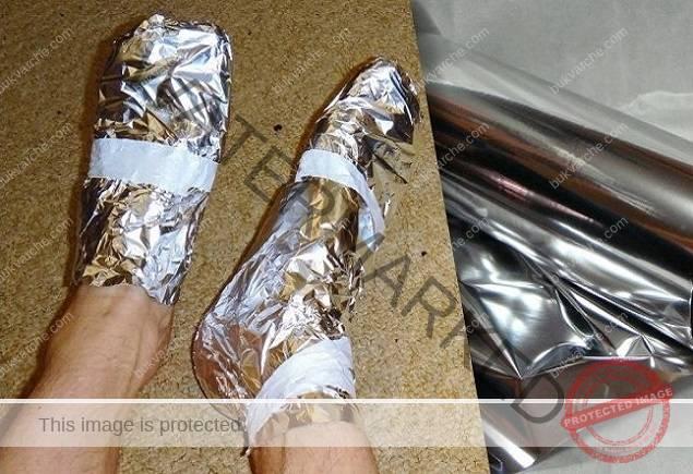 Алуминиево фолио - уникално средство за здраве и красота