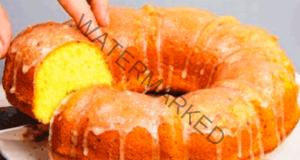 Кекс с лимонова глазура - нежно и ароматно изкушение