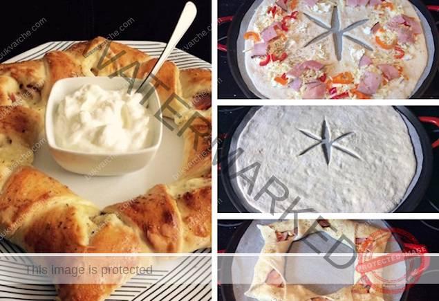 Рецепта за пица, която се приготвя много бързо - ще останете доволни