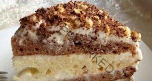"""Сметанова торта """"Ден и нощ"""" - любима рецепта"""