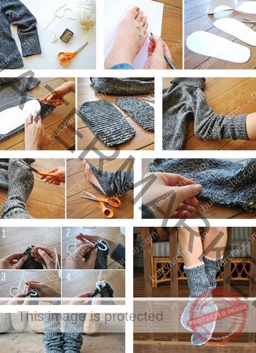 Домашни чехли, които сама си уших - няколко интересни идеи
