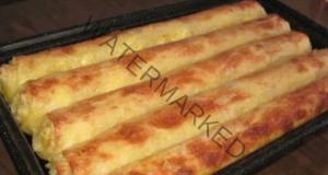 Баница с готови кори и сирене. Изчезва за нула време от масата