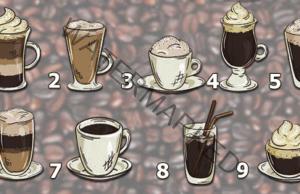 Горещо кафе с вкусна прогноза! Изберете една чаша!