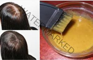 Гъста коса само за месец, която расте много бързо