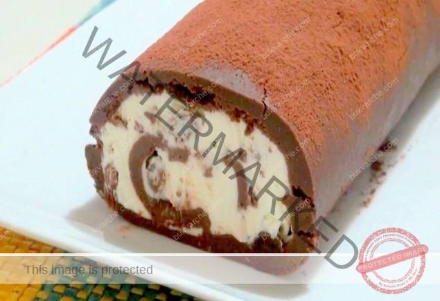 Домашно шоколадово руло с маскарпоне - нежен вкус