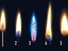 Забавен тест: Изберете един пламък и надникнете в бъдещето си!