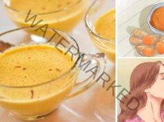 Златно мляко за почистване на кръвта и черния дроб