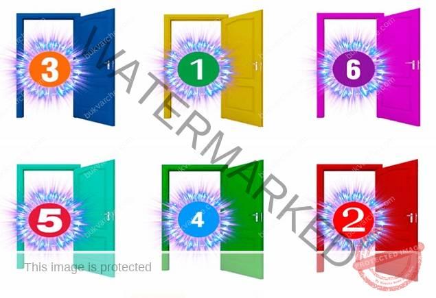 Избраната врата ще разкрие какво ви очаква до края на годината!