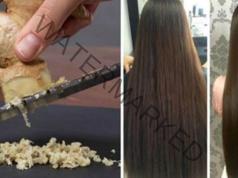 Маска за блестяща коса. Необходими са ви 3 съставки