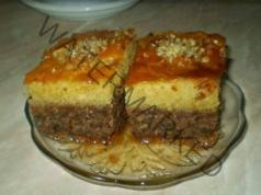 Орехов сладкиш с грис - стара рецепта от тефтера на баба ми