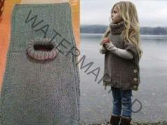 Плетена жилетка без сложни схеми и шарки: елементарно, но красиво