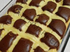 Какаов сладкиш с нежен пълнеж - топи се в устата