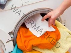 Мокри кърпички по време на пране - много полезен трик