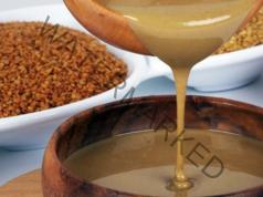 Натурален мед и тахан за почистване на кръвта