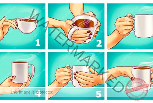 Тест с чаша, който разкрива чертите на вашия характер