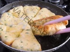 Триъгълници със сирене - вкусна и бърза идея за закуска