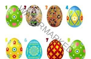 Великденско яйце разкрива тайни от характера - много точен тест
