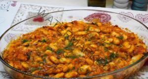 Печен боб на фурна по гръцки. Идея за вкусен обяд или вечеря