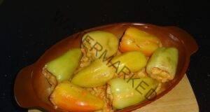 Пълнени чушки с картофи, страхотно ястие, което трябва да опитате!