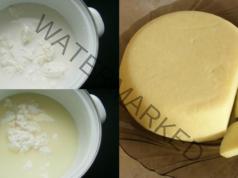 Твърдо сирене от извара в домашни условия. Лесна рецепта