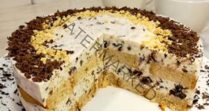 Торта без бисквити и без печене - наслада за небцето
