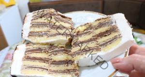 Шоколадова торта без печене, готова за 15 минути