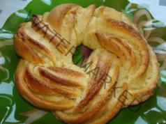 Великденски венец от портокалово тесто: незабравим аромат