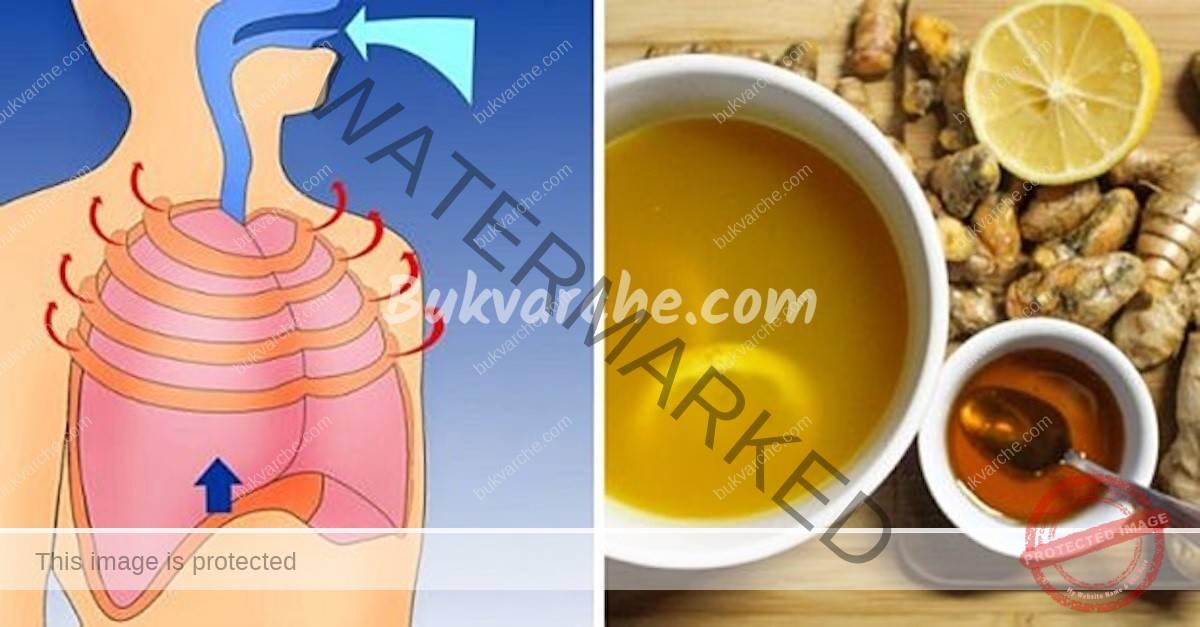 Почистване на храчките и задръстванията в гърдите