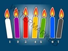 Важно предсказание - изберете една свещ и разберете какво е то!