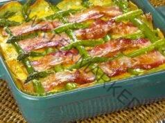Картофена запеканка с аспержи: вкусна идея за вечеря