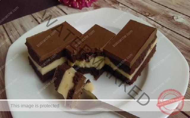 Креместа торта без яйца (без бъркане) - бързо, вкусно и лесно