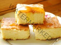 Фитнес закуска: запеканка с извара без брашно, грис и захар