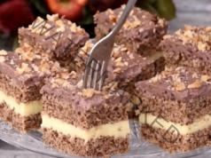 Два вида крем - най-хубавият десерт с незабравим вкус