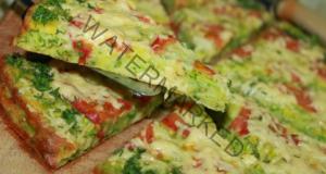 Пица с тиквички на тиган, готова само за 10 минути