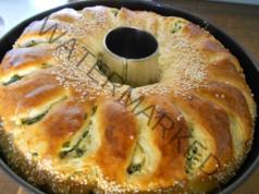 Рецепта за домашна питка със спанак и сирене