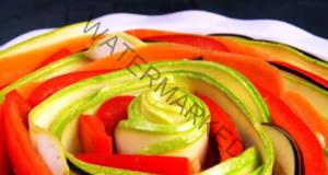 Цветна запеканка със зеленчуци и кайма. Отлична идея за обяд