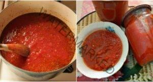 Домашен кетчуп. Приготвя се лесно и е много вкусен