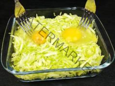 Запеканка от тиквички и две яйца. Вкусно ястие от прости съставки