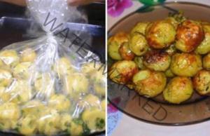 Картофи в плик - нова вкусна, бърза и лесна рецепта