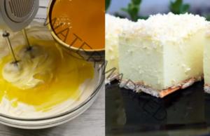 Лимонова торта без печене - красив и вкусен десерт