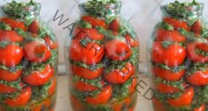 Пикантни мариновани домати: много вкусна рецепта
