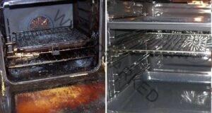 Почистване на фурната на печката без препарати и химикали