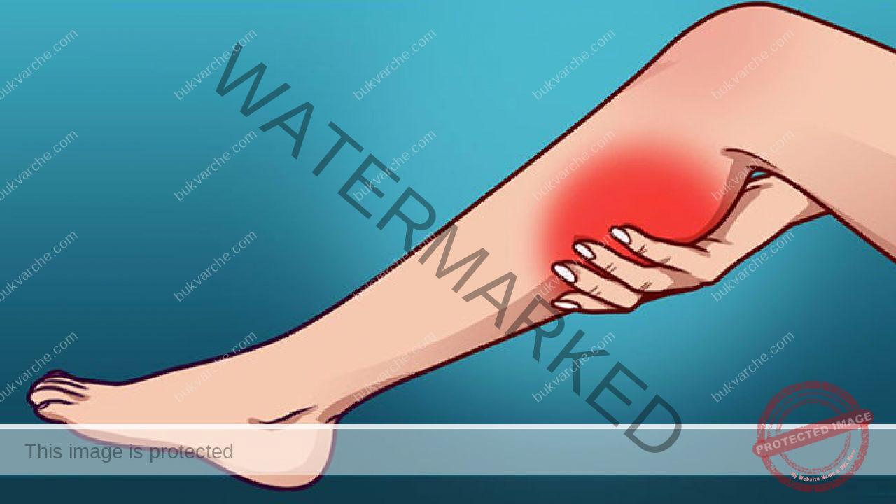 Мускулни крампи: правете следните процедури и масаж!