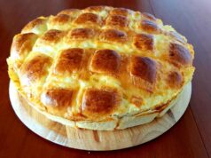 Питка с кашкавал - вкусно и ароматно домашно печиво