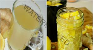Прочистване на организма с домашна напитка с лимон